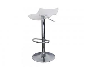 Бар стол Калипсо 10, въртящ - прозрачен