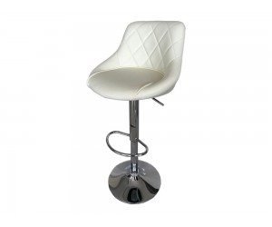 Бар стол Калипсо 16, въртящ - еко кожа бежов