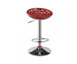Бар стол Калипсо-2, въртящ - червен