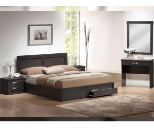 Спален комплект Dream HM11107.01 - от 5 части в Зебрано