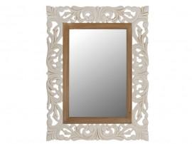 Огледало Priamo HM7014.01 - Крем/Кафяв
