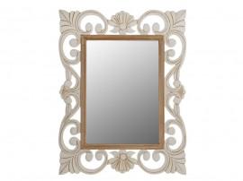 Огледало Firenze HM7015.01 - Крем/Кафяв