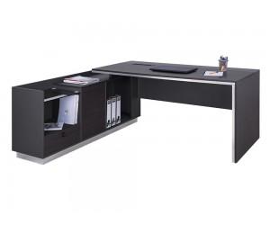 Ъглово бюро Rosewood HM2086L - за ляв ъгъл Венге/ Графит