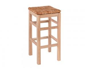Дървен бар стол HM10378.02 - в гръцки традиционен стил