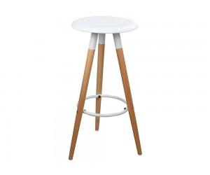 Бар стол Tonia HM0116.01 - Бял