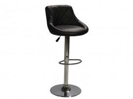 Бар стол Rose HM204.01 - Черен