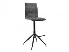 Бар стол Astrid HM8041.01- Сив