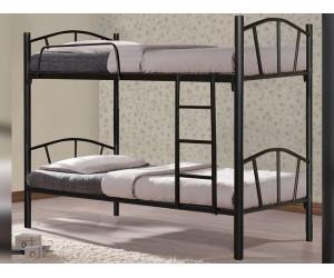 Метално двуетажно легло HM328.01 - разделящо се
