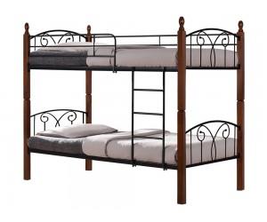 Метално двуетажно легло HM386 - разделящо се