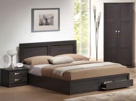 Легло Capri HM399.01 - 160/200 см. Зебрано
