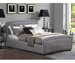 Тапицирано легло Odelia HM550.05 - 150/200 см. Сиво