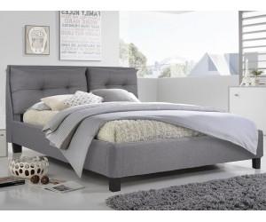 Тапицирано легло Billie HM551.05 - 160/200 см. Сиво