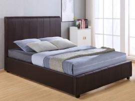 Тапицирано легло Beccy HM556.02 - 150/200 см. Кафяво