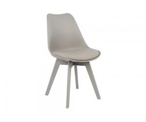 Комплект от 4 бр. трапезен стол с възглавничка Vegas HM0033.40 - Сив