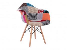 Комплект от 4 бр. трапезни столове с подлакътници Mirto HM005.25 - Пачуърк