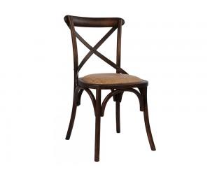 Трапезен стол с ратанова седалка Forenza HM0104.03