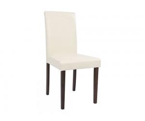 Комплект от 2 бр. тапициран трапезен стол Selene HM0128.02 - Кремавa PU кожа