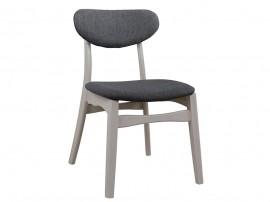 Комплект от 2 бр. трапезен стол Loaded HM0151.01 - Бял/ Сив