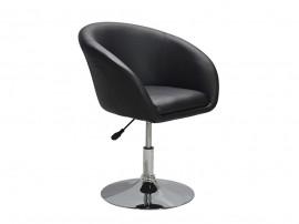 Въртящ се стол Air HM215.01 - Черен/ Хром