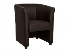 Кресло Appolon HM3090.03 - Кафява PU кожа