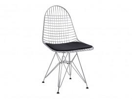Комплект от 4 бр. метален стол с възглавничка HM8230.100 - Хромиран
