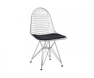 Метален стол с възглавничка HM8230.100 - Хромиран