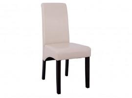 Комплект от 2 бр. тапициран трапезен стол Roxie HM8328.02 - Бежова PU кожа