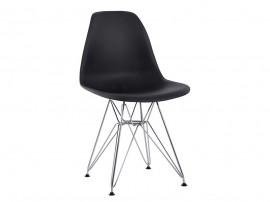 Комплект от 4 бр. Полипропиленов стол Twist HM8449.02 - Черен