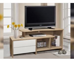 ТВ шкаф HM2212.01 - Сонома/ Бял