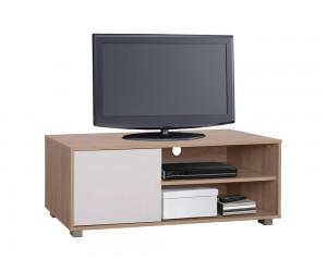ТВ шкаф HM2340.01 - Сонома/ Бял