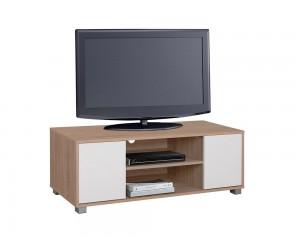 ТВ шкаф HM2341.01 - Сонома/ Бял