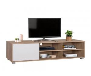 ТВ шкаф HM2343.01 - Сонома/ Бял