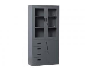 Метален шкаф Carmen CR-1278 SAND - графит