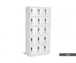 Метален шкаф Carmen CR-1245 J
