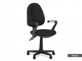 Офис стол Carmen 6079 - Черен