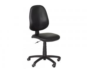 Офис стол Carmen Polo без подлакътници Еко кожа - Черен