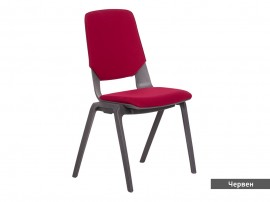 Посетителски офис стол Limber - Червен