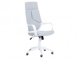 Ергономичен президентски офис стол Carmen 7500-2 с подлакътници - Светло сив