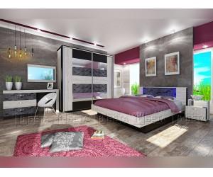 Спален комплект Комо с LED осветление