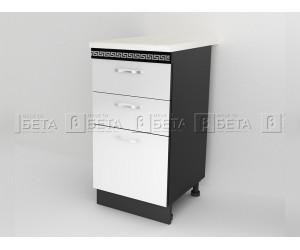 Долен кухненски шкаф с чекмеджета Версаче Д6 - 40 см.