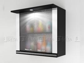 Горен кухненски шкаф Версаче Г2 с осветление - 80 см.