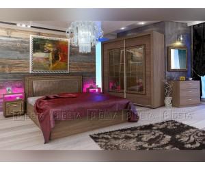 Спален комплект Роял с LED осветление