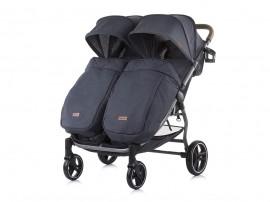 Детска количка за близнаци 2 Classy - карбон - Chipolino