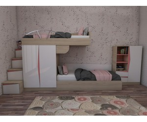 Комплект за детска стая Марти - Конфигурация №7