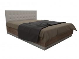 Легло с тапицирана табла Калифорния МК10 - Антик/Бяло - 160/200 см.