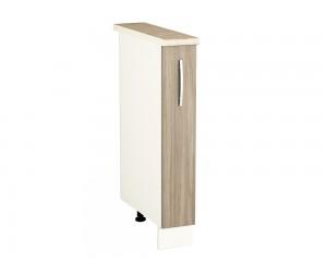 Долен шкаф-бутилиера за кухня PRIMO PD15 с ширина 15 см.
