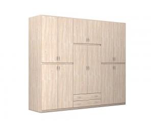 """Шесткрилен гардероб с чекмеджета """"2 Season"""" DIOMMI (25-101) - 300 см."""