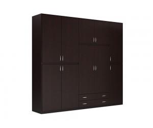 """Петкрилен гардероб с чекмеджета """"2 Season"""" DIOMMI (25-102) - 250 см."""