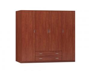 """Четирикрилен гардероб с чекмеджета """"No Loft"""" DIOMMI (25-105) - 200 см."""