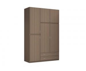 """Трикрилен гардероб с чекмеджета """"2 Season"""" DIOMMI (25-106) - 150 см."""